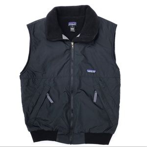 Patagonia Nylon Shell Fleece Lined Synchilla Vest